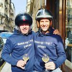 Valcombe Road Tour Day 3 - Paris When in Rome, do like the Romans, isn't it !!!!! #chateaudevalcombe #organicwines #familyvineyard #nosexforbutterfly #costieresdenimes